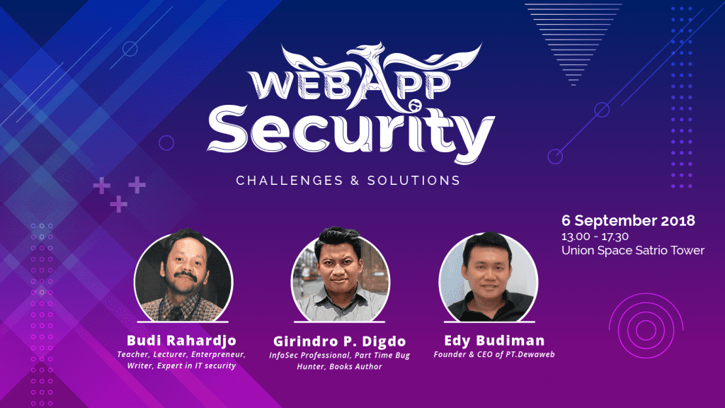 Dewatalks 2018 - Web App Security