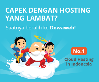 Dewaweb Cloud Hosting Indonesia!
